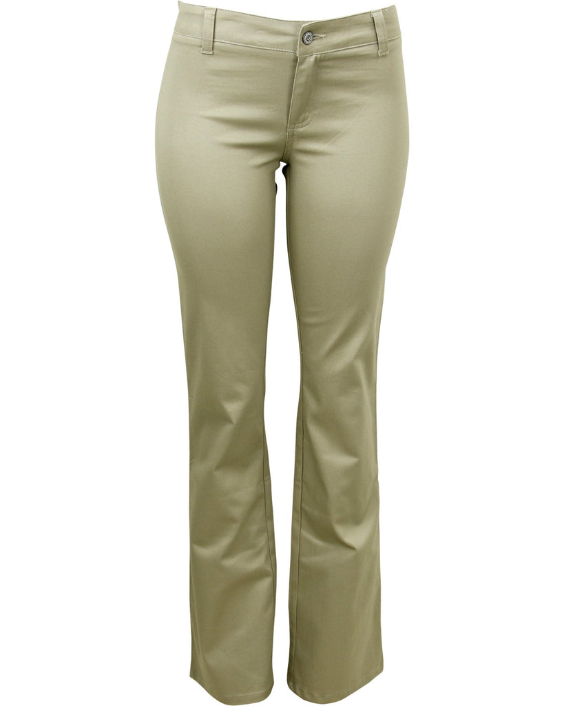 Dickies Girl Back To School Classic Pant - Khaki - ShopVimVixen.com