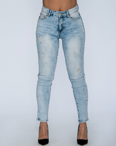 DIVYA RIP AND STRATCH JEANS