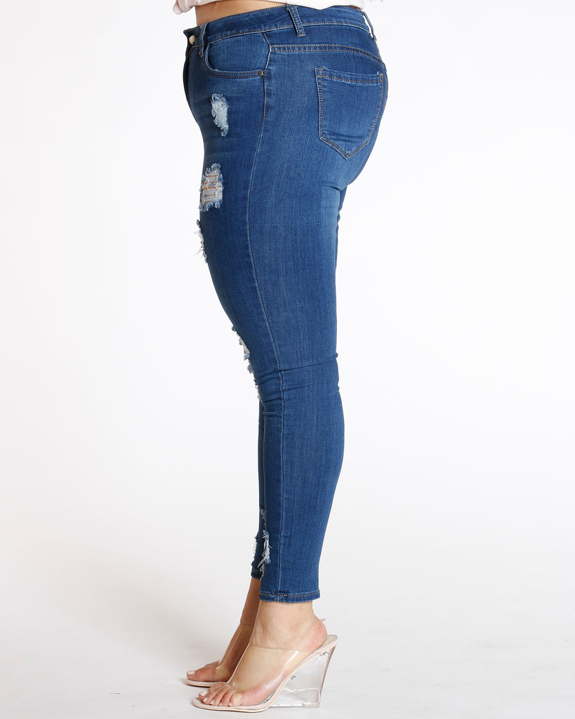 Front Rips Jean
