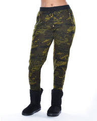 VIM VIXEN Fleece Jogger With Zipper Pockets - ShopVimVixen.com