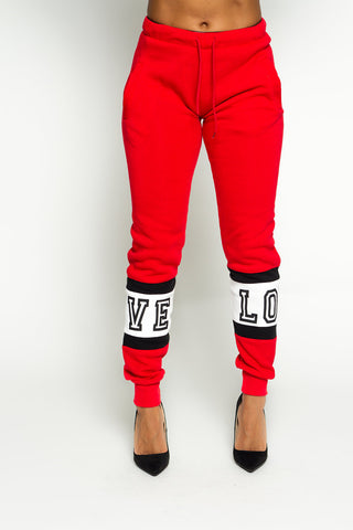 Love Fleece Jogger(Available in 4 colors)