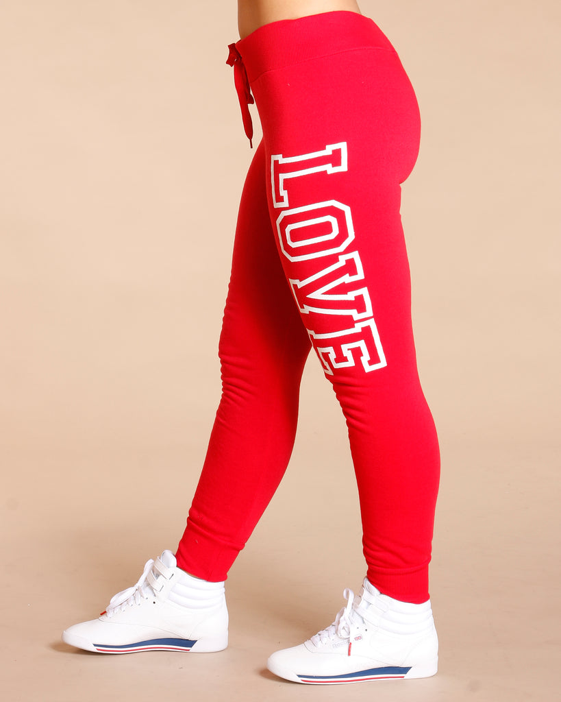 LOVE FLEECE JOGGER (AVAILABLE IN 6 COLORS)