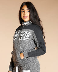 ZIPPER LOVE FLEECE SWEATER (AVAILABLE IN 3 COLORS)