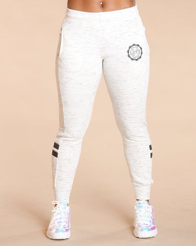 Melange Two Stripe Jogger