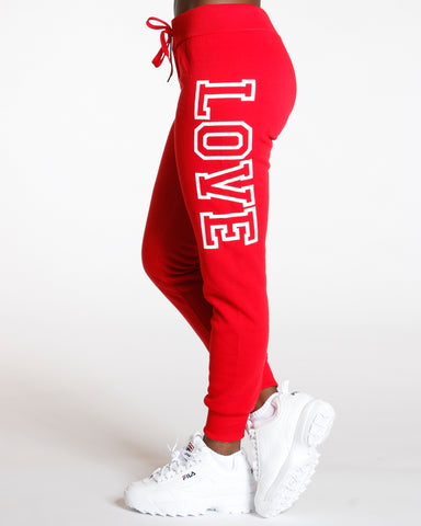 Amalia Love Fleece Jogger
