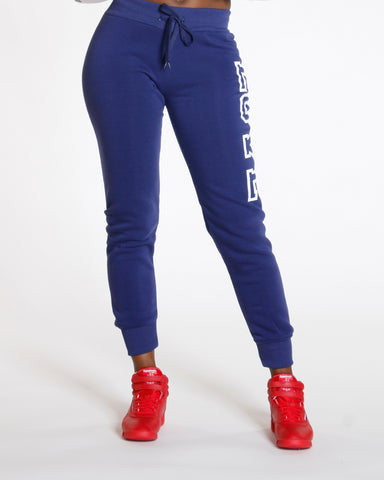 Amalia Navy Love Fleece Jogger