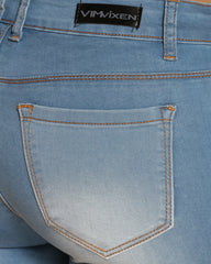 Denim Short - Medium Indigo