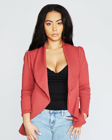 Drape Jacket (Available in 2 colors)
