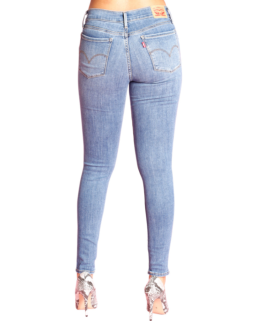 LEVI'S 710 No Diggity Super Skinny Jean - Light Denim - ShopVimVixen.com