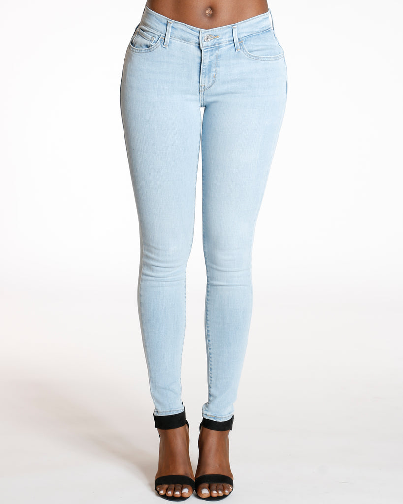 Levi's 710 Spring Returns Super Skinny - Light Blue - ShopVimVixen.com