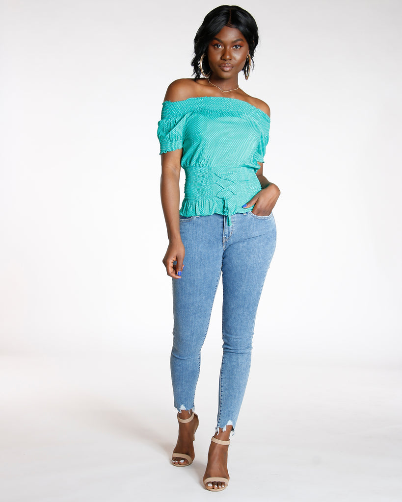 LEVI'S 710 In The Game Super Skinny - Medium Denim - ShopVimVixen.com