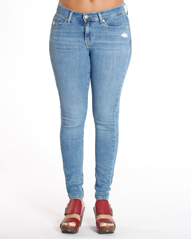 Curvy Blue Star Way Skinny Jean
