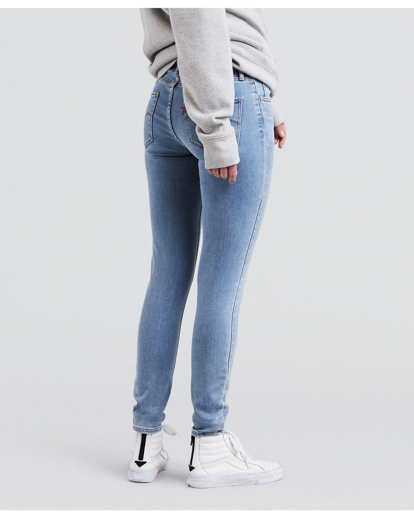 LEVI'S 720 High Rise Super Skinny Jeans - Light Denim - ShopVimVixen.com