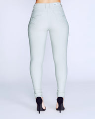 HYPERSTRETCH SKINNY PANTS - MINT