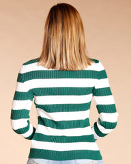 Striped Turtleneck Sweater (Available In 6 Colors)