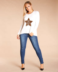 STARS LIKE YOU EXCEEDING ME SWEATER (AVAILABLE IN 6 COLORS)