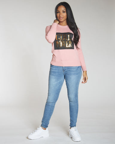 Vanesa Rose Girl Power Sweater