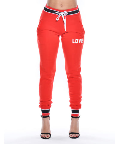 Love Fleece Jogger (Available in 4 colors)