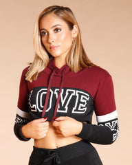 LOVE COLOR BLOCK HOODIE (AVAILABLE IN 6 COLORS)