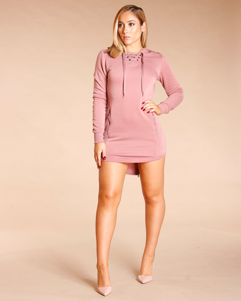 KNITTED FLEECE TUNIC (AVAILABLE IN 5 COLORS)