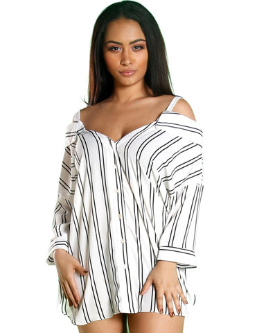 SUSIE STRIPE TOP (Available in 2 colors)