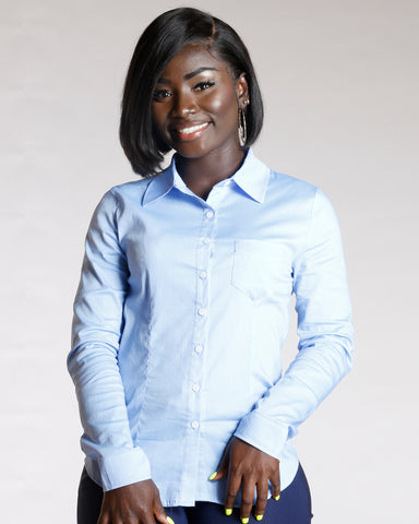 Classic Button Down Shirt - Blue