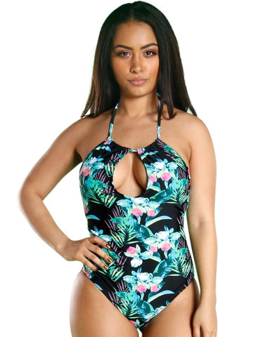 RESTING BEACH FACE SWIMSUIT