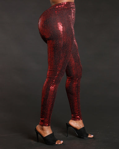 Uptown Glow Sequin Pants