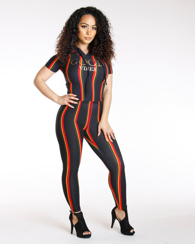 Mona Vertical Stripe Legging