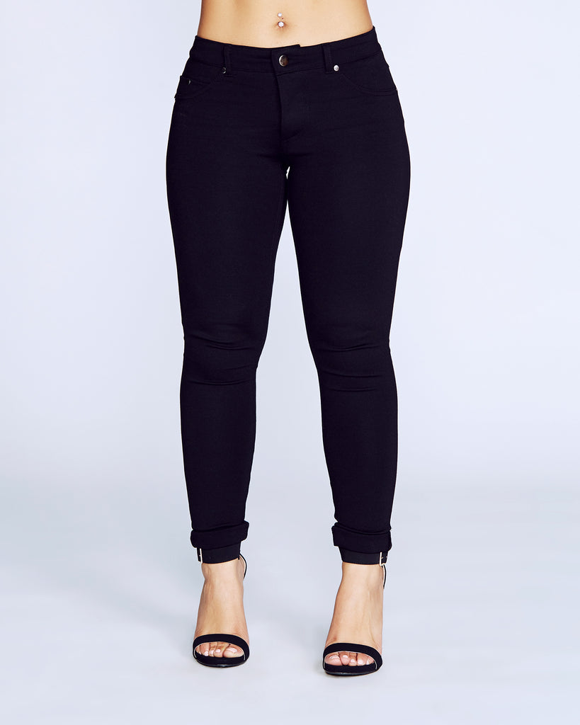 EVANA PONTE PANTS (Available in 4 colors)