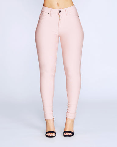 HyperStretch Skinny Pants - Coral