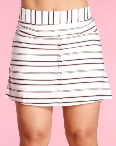 Stella Stripe Skirt (Available In 3 Colors)