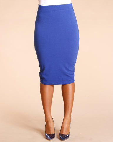 PONTE PENCIL SKIRT (AVAILABLE IN 5 COLORS)