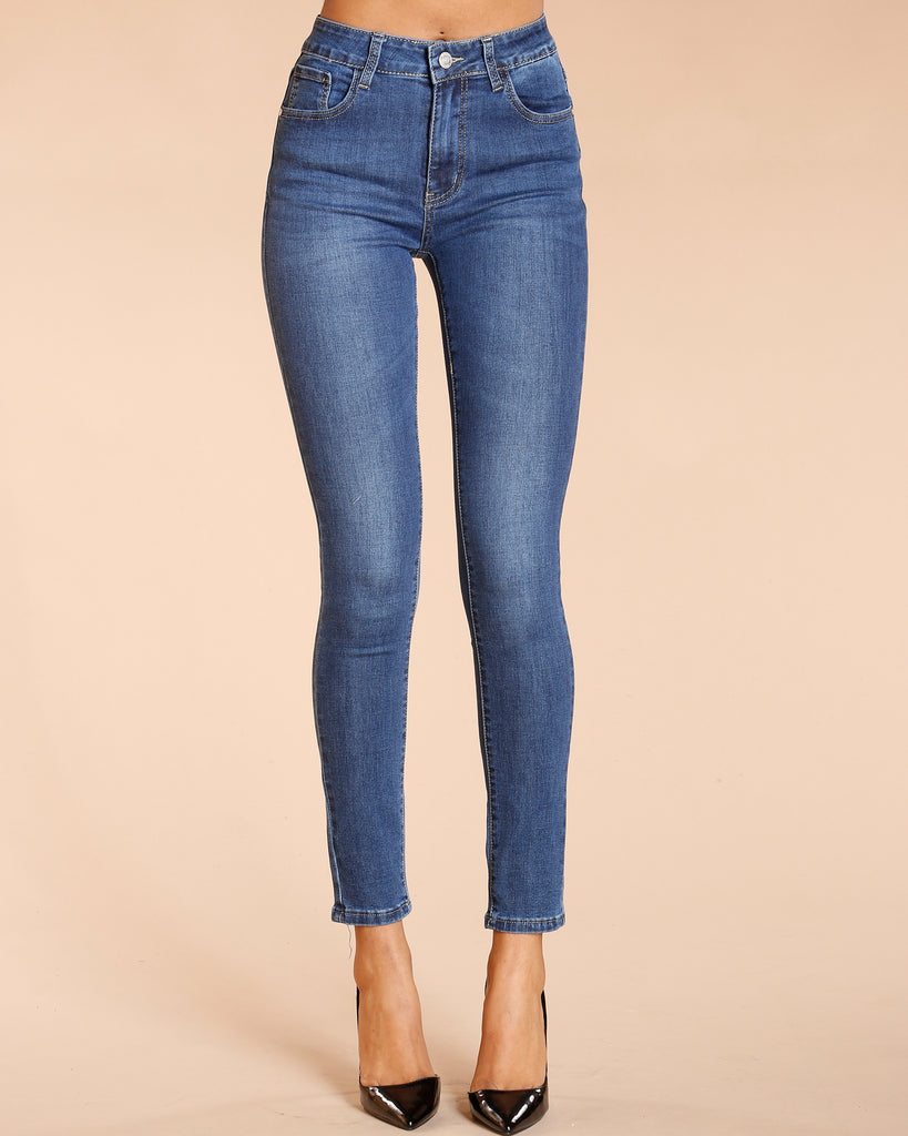 Stretch Jeans - Dark Blue