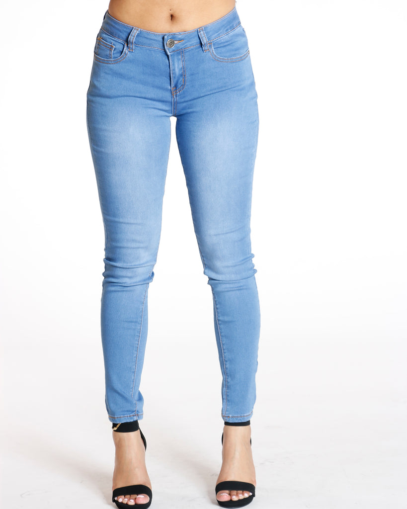 Get Lucky Jean - Medium Denim
