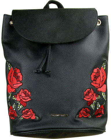 Wo Wo Rose Patch Backpack