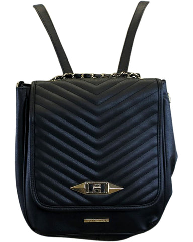 Chevron Quilted Backpack