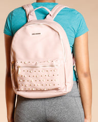 Pearls And Studded Backpack (Available In 2 Colors)