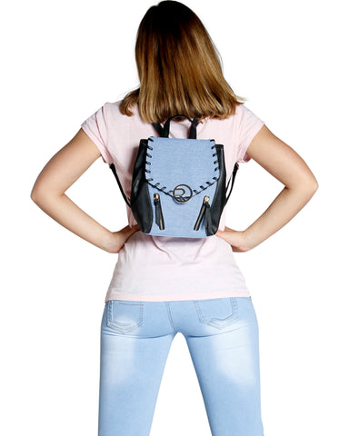 DENIM BACKPACK (AVAILABLE IN 2 COLORS)