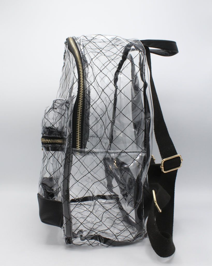 VIM VIXEN Clear Backpack - Hologram - ShopVimVixen.com