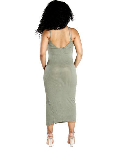 Ribbed Tank Dress (Available In 3 Colors)