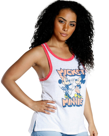 MICKEY AND MINIE TANK TOP
