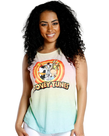 DIP DYE LOONEY TUNES TANK TOP
