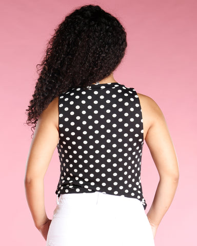 POLKA DOTS TANK TOP