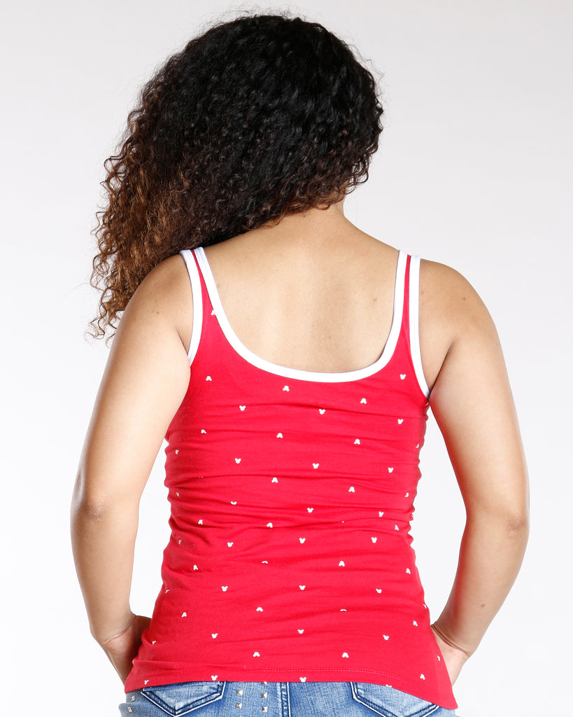 667be751639399 Women s All Over Minnie Mouse Tank Top - Vim Vixen