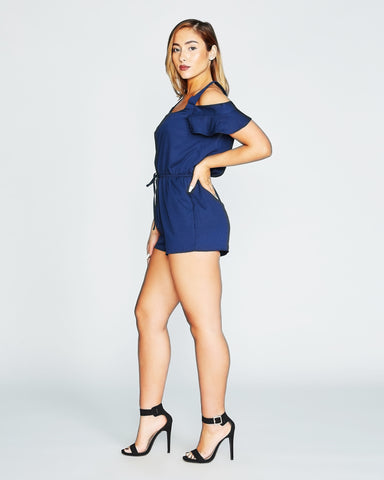 SKATING ON THE ICE ROMPER (Available in 3 colors)