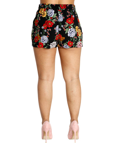 Floral Decor Shorts (Available In 2 Colors)