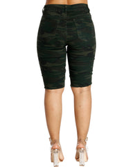 DARK CAMO BERMUDA SHORTS