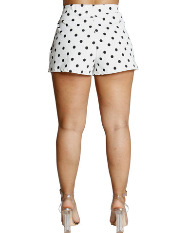 Double Up Polka Dot Shorts (Available In 2 Colors)