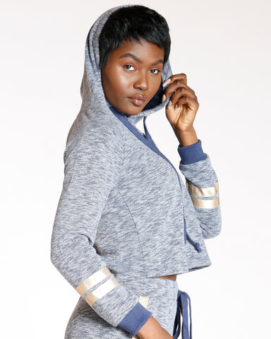 First Class Chill Hoodie - Navy